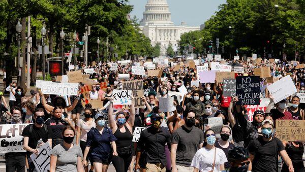 Marsz w Waszyngtonie - Sputnik Polska