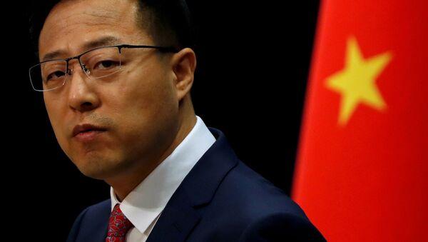 Rzecznik MSZ Chin Zhao Lijian - Sputnik Polska