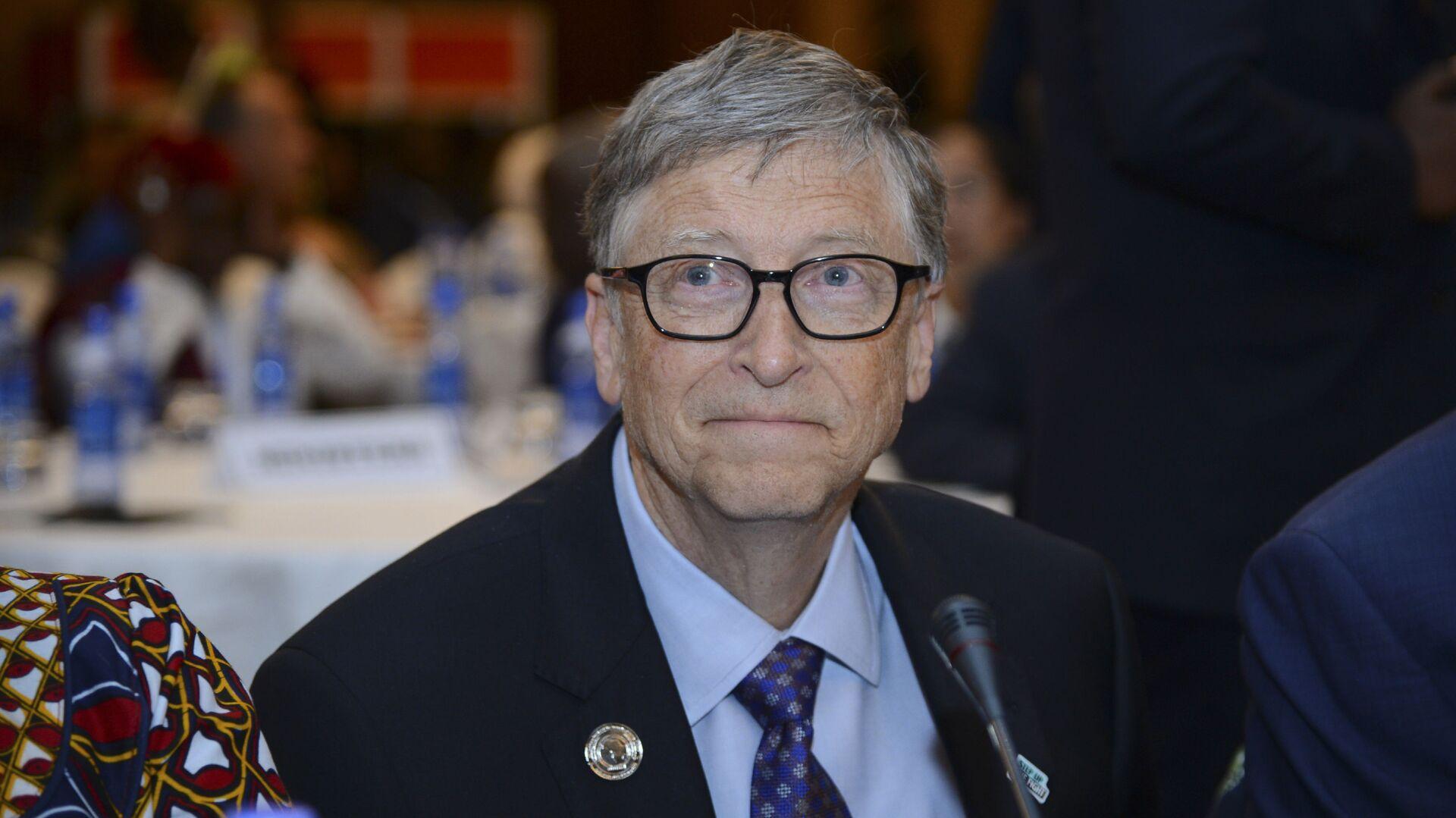 Amerykański przedsiębiorca Bill Gates - Sputnik Polska, 1920, 01.02.2021
