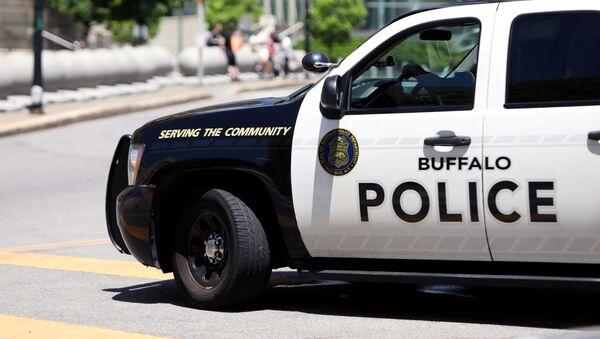Radiowóz policji w Buffalo, USA. - Sputnik Polska
