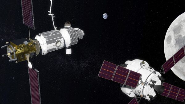 Projekt międzynarodowej stacji okołoksiężycowej Deep Space Gateway. - Sputnik Polska