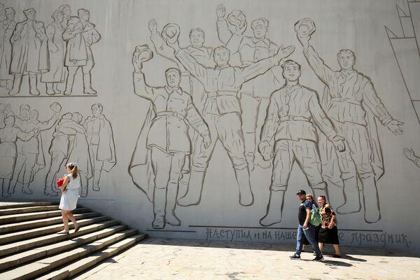"""Kompleks memorialny """"Bohaterom bitwy stalingradzkiej"""" w Wołgogradzie - Sputnik Polska"""