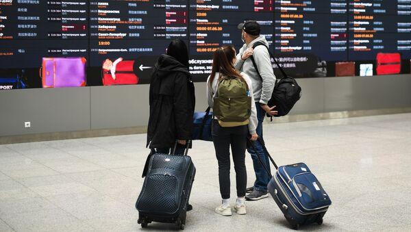 Port lotniczy Moskwa-Szeremietiewo - Sputnik Polska
