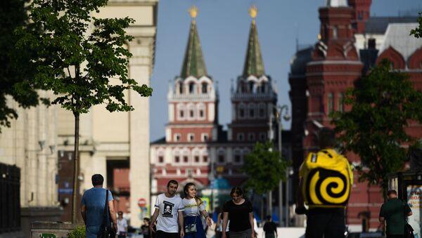 Spacer po Moskwie - Sputnik Polska