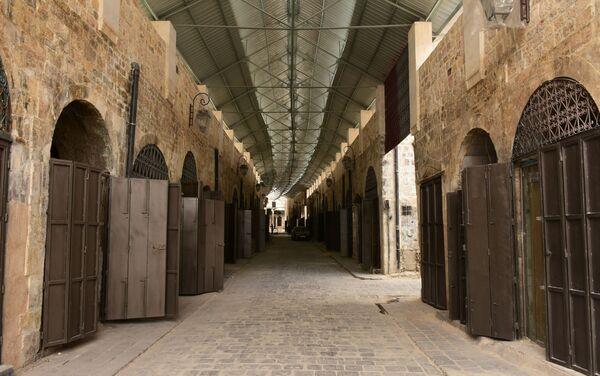 Odbudowa rynku w Aleppo - Sputnik Polska