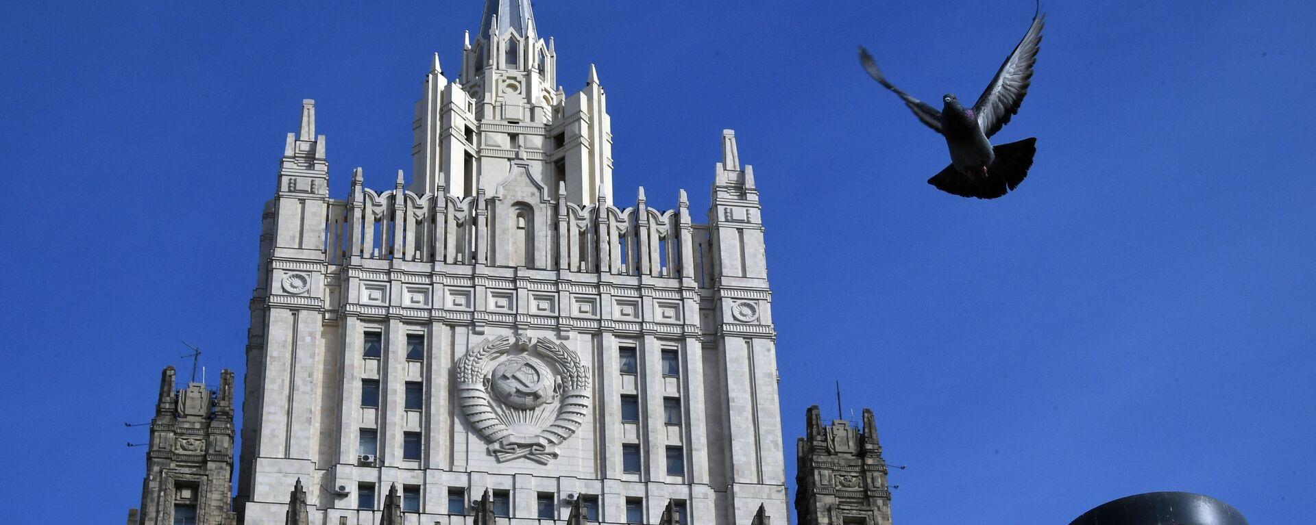 Budynek Ministerstwa Spraw Zagranicznych Rosji - Sputnik Polska, 1920, 13.08.2020