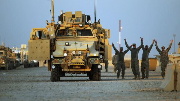 Wojskowi USA w Iraku - Sputnik Polska