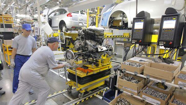 "Fabryka koncernu PSA ""Peugeot-Citroen"" w Kałudze - Sputnik Polska"