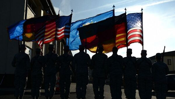 Żolnierze USA w Niemczech - Sputnik Polska