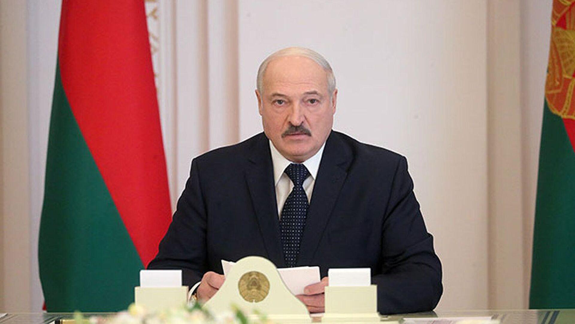 Prezydent Białorusi Alaksandr Łukaszenka - Sputnik Polska, 1920, 30.03.2021