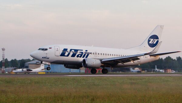 Samolot linii lotniczych Utair - Sputnik Polska