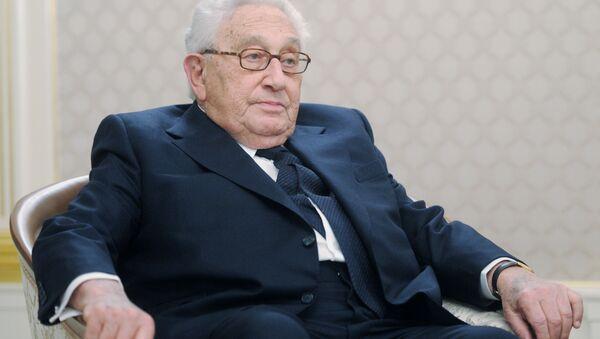 Były sekretarz stanu USA Henry Kissinger w Moskwie - Sputnik Polska