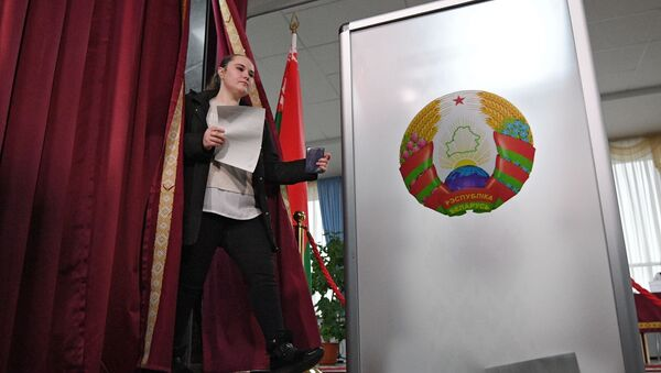 Wybory na Białorusi - Sputnik Polska