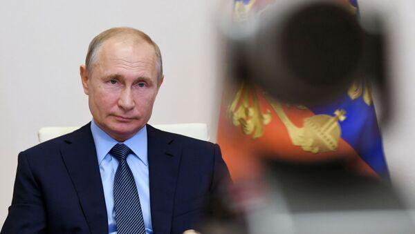 Prezydent Rosji Władimir Putin. - Sputnik Polska