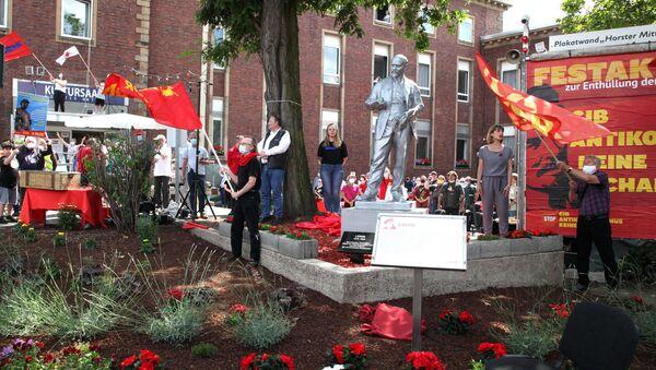 Pomnik Lenina w Gelsenkirchen, Niemcy - Sputnik Polska