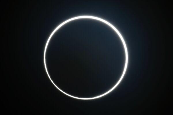 Сzęściowe zaćmienie Słońca w Tajwanie - Sputnik Polska