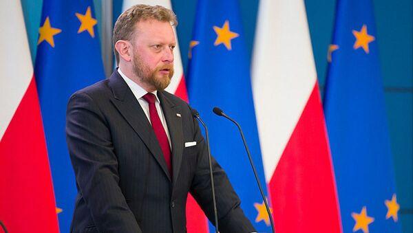 Łukasz Szumowski - Sputnik Polska