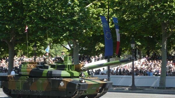 Francuski czołg Leclerc - Sputnik Polska