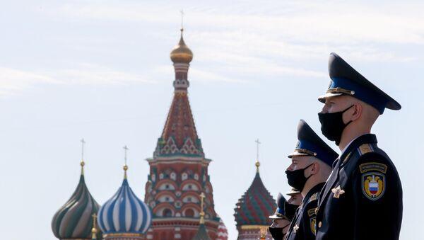 Defilada Zwycięstwa w Moskwie z okazji 75. zakończenia Wielkiej Wojny Ojczyźnianej - Sputnik Polska