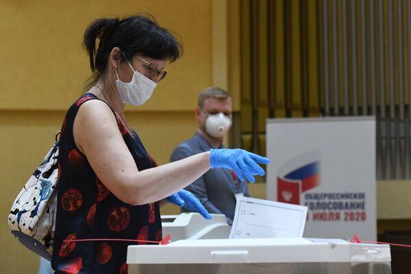 Głosowanie ws. poprawek do Konstytucji Federacji Rosyjskiej - Sputnik Polska