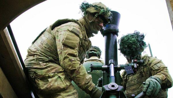 Wojskowi 2 brygady pancernej USA na ćwiczeniach wojskowych w Europie - Sputnik Polska