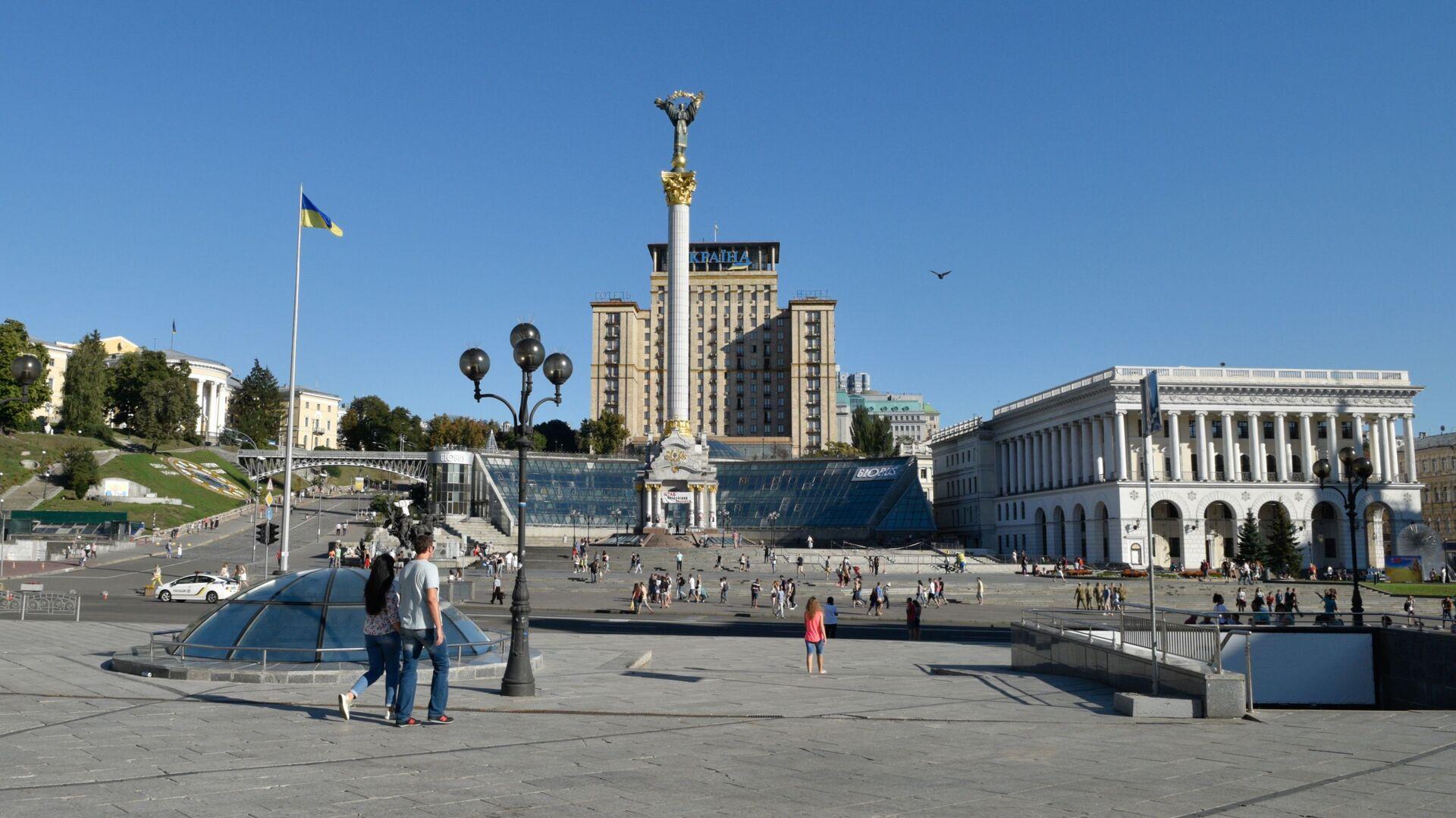 Plac Niepodległości w Kijowie - Sputnik Polska, 1920, 23.07.2021