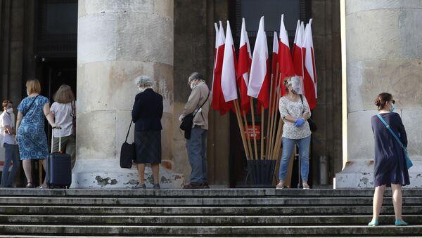 Wybory prezydenckie 2020 w Polsce - Sputnik Polska