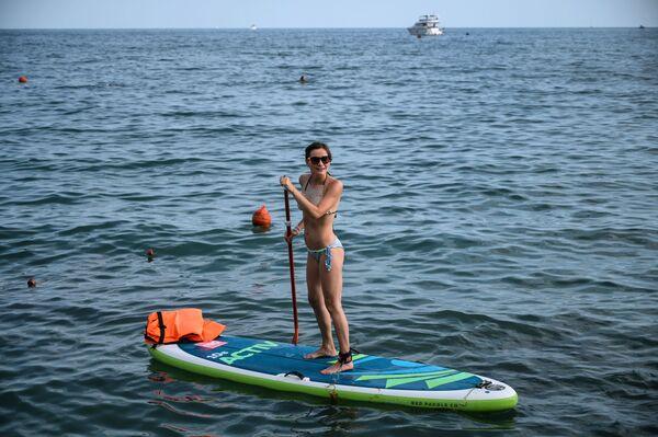 Stand up paddle w Soczi - Sputnik Polska