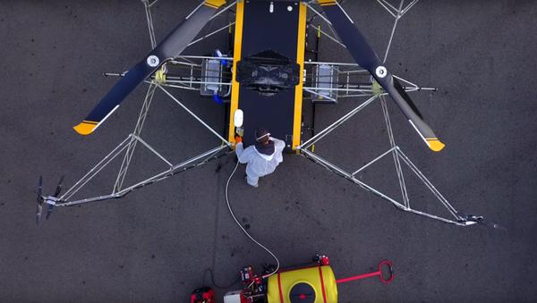 Dron  BRAERON - Sputnik Polska