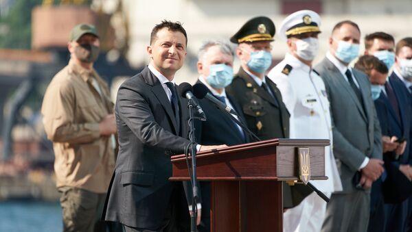Obchody Dnia Marynarki Wojennej w Odessie - Sputnik Polska