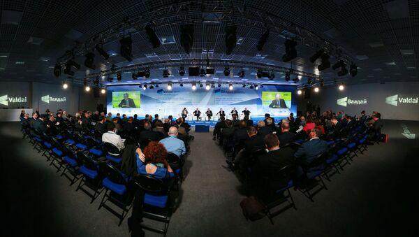 Posiedzenie Międzynarodowego klubu dyskusyjnego Wałdaj w Soczi - Sputnik Polska