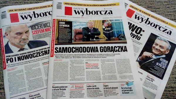 Gazeta Wyborcza - Sputnik Polska