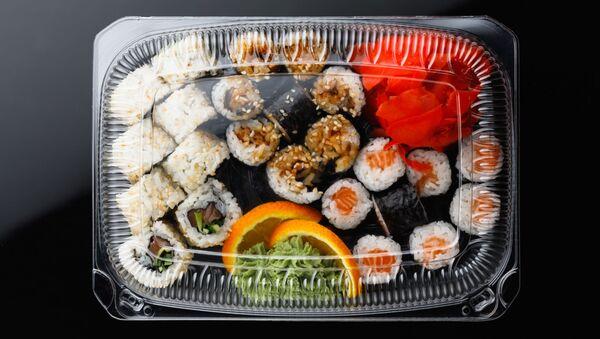 Pudełko z sushi - Sputnik Polska