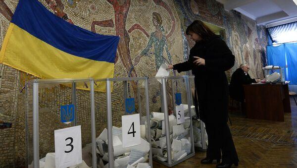 Wybory samorządowe na Ukrainie - Sputnik Polska