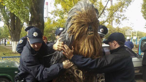 Zatrzymanie Chewbacca w Odessie - Sputnik Polska