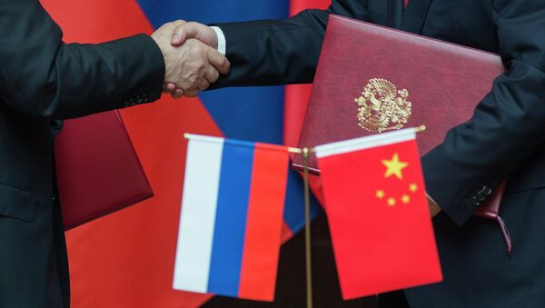Władimir Putin podczas oficjalnej wizyty w Chinach - Sputnik Polska