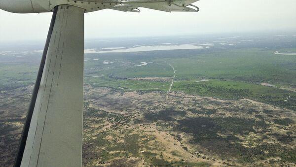 Widok z powietrza na Sudan Południowy - Sputnik Polska