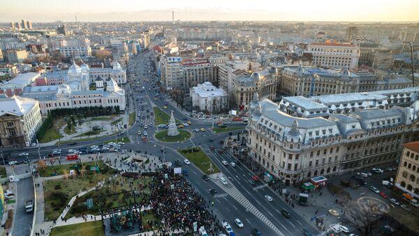 Panorama na stolicę Rumunii Bukareszt - Sputnik Polska