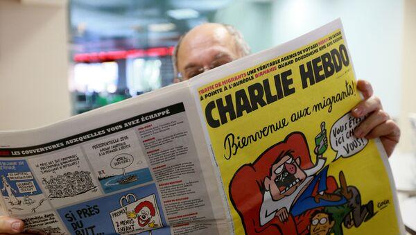 "Francuski tygodnik satyryczny ""Charlie Hebdo"" - Sputnik Polska"