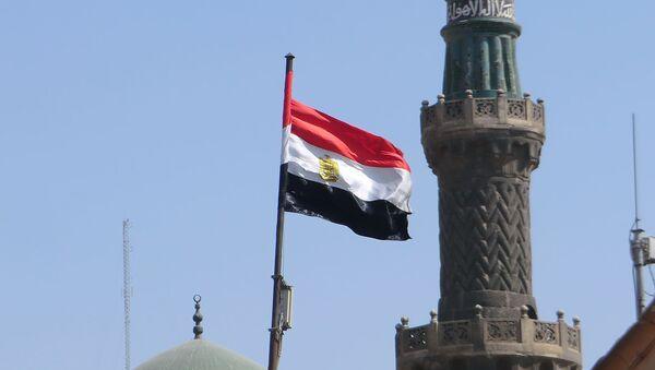 Flaga Egiptu - Sputnik Polska