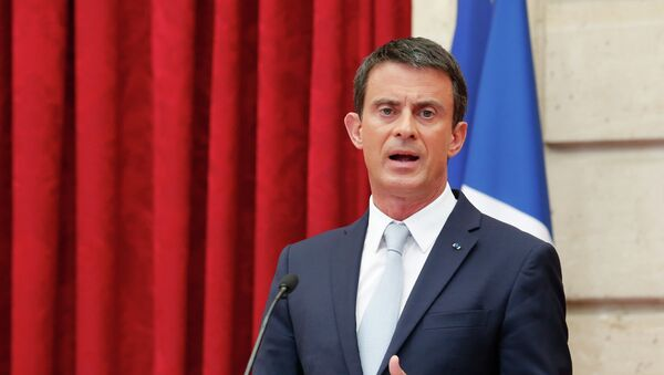 Manuel Valls - Sputnik Polska
