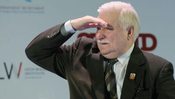 Były prezydent RP, Lech Wałęsa - Sputnik Polska