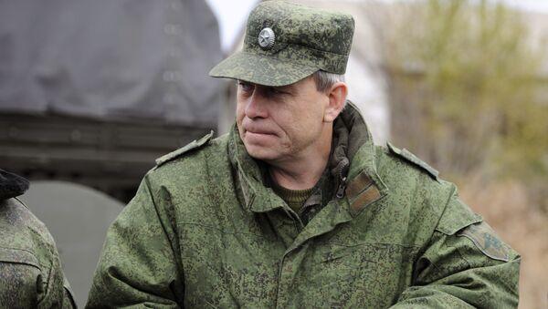 Wiceszef sztabu powstańców Donieckiej Republiki Ludowej Eduard Basurin - Sputnik Polska