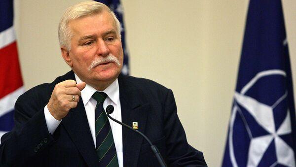 Były prezydent Polski Lech Wałęsa - Sputnik Polska