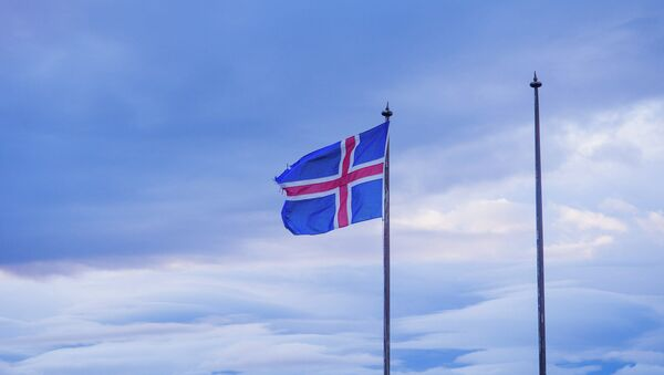 Flaga Islandii - Sputnik Polska