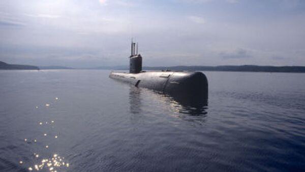 Okręt podwodny klasy Warszawianka Floty Północnej - Sputnik Polska