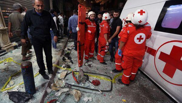 Zamach terrorystyczny w Bejrucie - Sputnik Polska