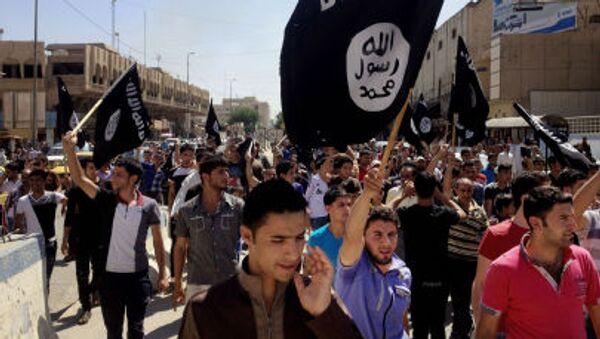 Zwolennicy Państwa Islamskiego w Bagdadzie - Sputnik Polska