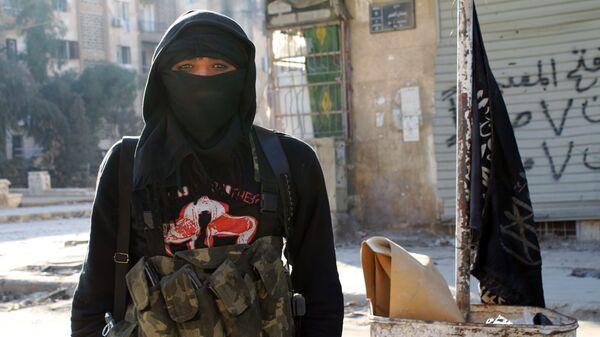 An-Nusra-Front w Syrii - Sputnik Polska