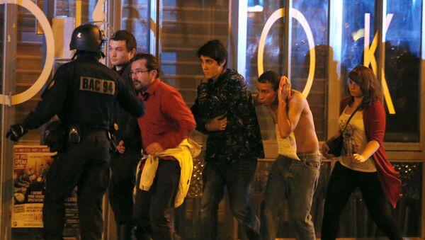 Ataki terrorystyczne w Paryżu - Sputnik Polska